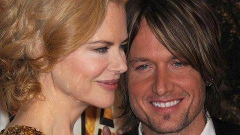 IKKE LENGER ENSOMME: Nicole Kidman, Keith Urban har både hverandre og datteren Sunday Rose.