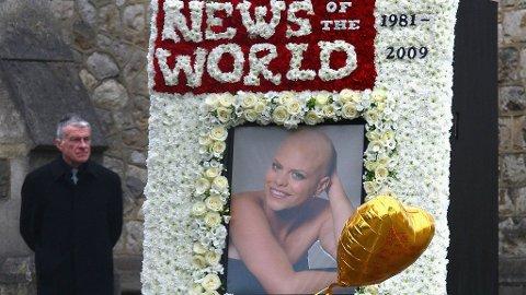 Jade Goodys bortgang møttes med Prinsesse Diana-aktige tilstander i London-området . Max Clifford representerte realitystjernen i hennes siste ukers kamp mot kreften.