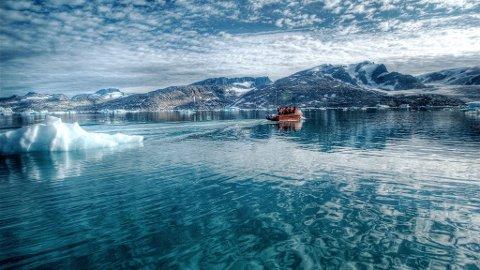 IDYLLISK: Nå kan du få sjansen til å oppleve den fantastiske naturen på Grønland med Hurtigruten.