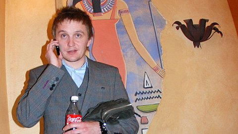 «Død snø»-regissør Tommy Wirkola på premieren av «Død Snø» på kinoen The Egyptian under årets Sundance-festival i Utah.