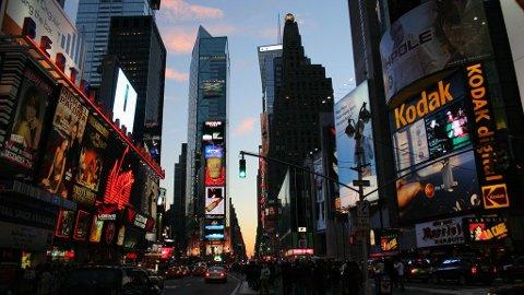 TURISTFELLE: Det finnes mange turistefeller og Times Square i New York er en av de verste i følge Forbes Traveller.