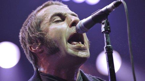 IKKE IMPONERT: Liam Gallagher har startet eget klesmerke i protest mot band som Coldplay.