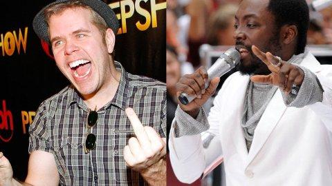 CATFIGHT: Perez Hilton hevder at han ble overfalt av Will.I.Am fra Black Eyed Peas og hans entourage i Toronto.