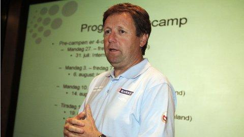 Presenterer uttaket for fotball-EM 2009