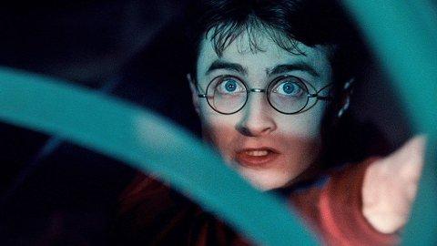 DANIEL RADCLIFFE som Harry Potter i den sjette filmen om trollmannlærlingen.