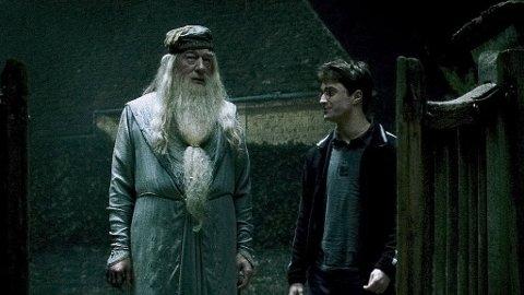 Daniel Radcliffe har stor respekt for Michael Gambon, som spiller Professor Dumbledore.