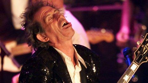 UDØDELIG: Keith Richards og The Rolling Stones har muligens laget tidenes rockeskive med «Exile On Main St.».