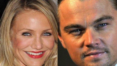 DATER: Ifølge rapportene skal nysingle Leo kose seg stort med vakre Cameron Diaz mellom jobbøktene i London.