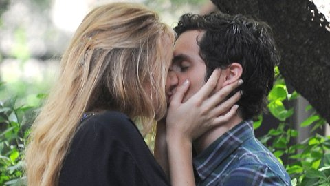 SAMMEN LENGE: Blake og Penn har vært kjærester i snart to år og forelskelsen er like sterkt fortsatt kan det se ut som.