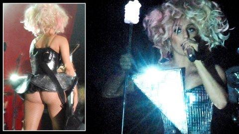 FOR ET SHOW! - Jeg får mange små orgasmer hver gang publikum roper, sier Lady GaGa.