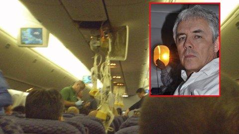 Endre Zweidorff (53) fra Bergen var blant passasjerene på Continental Airlines-flyet.
