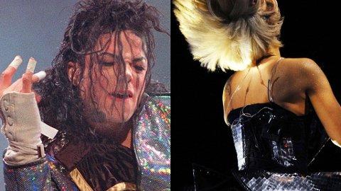 SLAKTES: Nylig avdøde Michael Jackson og Lady GaGa er blant artistene NME-leserne mener er tidenes mest overvurderte.