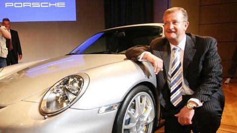 Wendelin Wiedeking, avgått toppsjef i Porsche