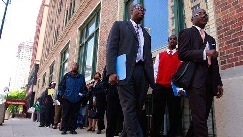 Chicago arbeidsløse arbeidssøkere