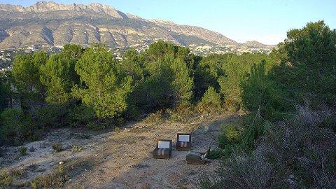 Sykehjemstomt, Altea, Spania