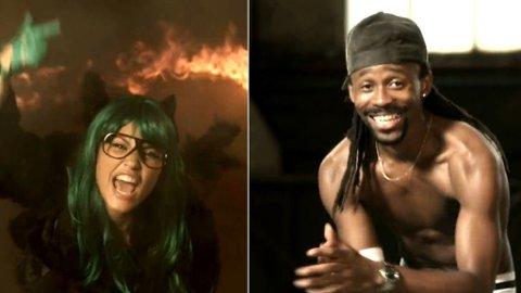 Mira og Tshawe gjester Tommy Tees nye video .