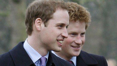 TØFFE TESTER: William og Harry må begge gjennomgå innvielsesritualer hos RAF for å få sine «drikke-vinger».