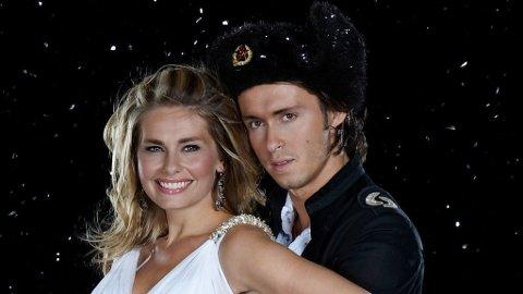 Elin Tvedt og Egor Filipenko er favoritter til å vinne årets «Skal vi danse».
