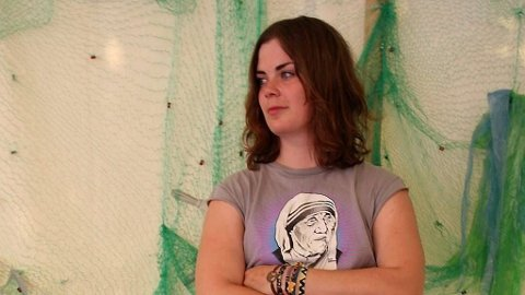 Ida Maria på festival Roskilde 2009. Artisten har hatt en voldsom reiseplan siden hun slo gjennom.
