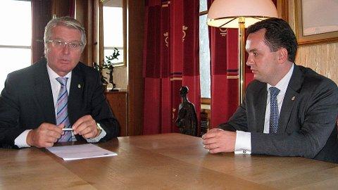 Fabian Stang og Stian Berger Røsland