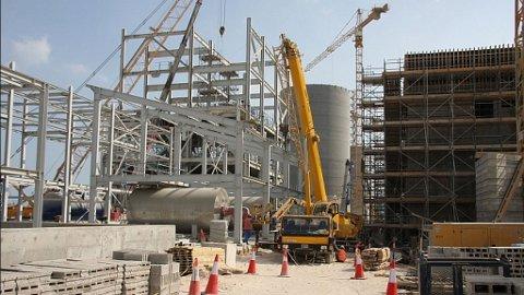 Aluminium anlegg bygg Norsk Hydro Qatalum
