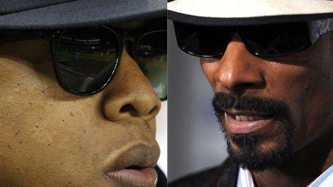 BRITPOP-FEBER: Både Jay-Z og Snoop Dogg vil samarbeide med Oasis-brødrene Liam og Noel.