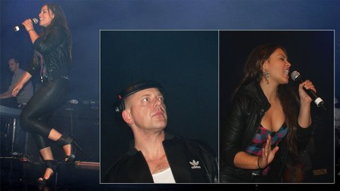 DAMPENDE SHOW: Mira Craig stilte på Tommy Tees store fest