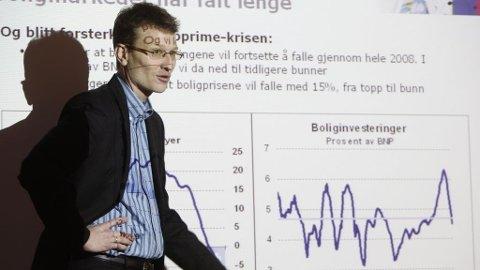 Knut Magnussen , seniorøkonom Knut A. Magnussen, Dnb Nor Markets