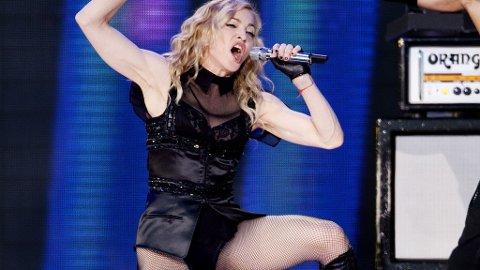 SLAPT: Madonna greide aldri å engasjere eller provosere som i sine velmaktsdager på Valle Hovin.