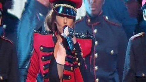 SOLODEBUT: Cheryl Cole debuterte som soloartist i kjente omgivelser på X Factor.