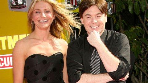 UTESTENGT: Filmselskapet Dreamworks nekter Cameron Diaz og Mike Myers å bruke Twitter.