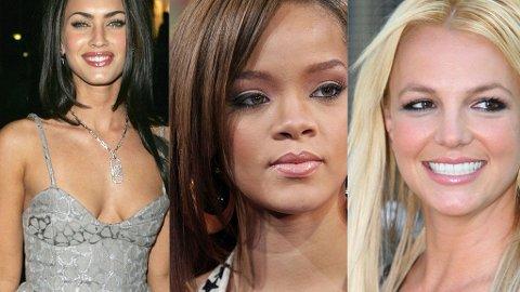 ELLE, MELLE: Ingen av disse tre damene er årets mest populære på nett.