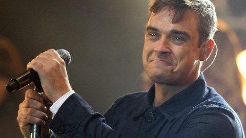 EN DIVA? Når han ikke fikk særbehandling, nektet Robbie Williams å spille på MTV Awards.