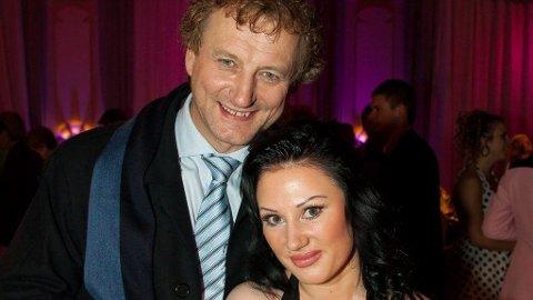FORELDRE: Frithjof Wilborn og Tina Thompson har blitt foreldre. Dette er parets første barn sammen.