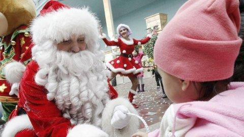 Santa Claus Julenisse julegaver