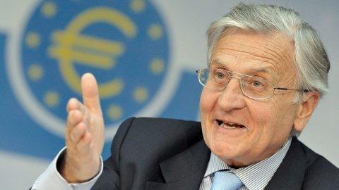 Sentralbanksjef, Jean-Claude Trichet, Den europeiske sentralbanken, ECB