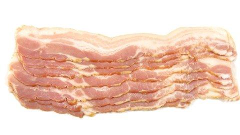 VANLIG BACON: Dette baconet er fra en valig gris, i fremtiden kan det være en saga blott