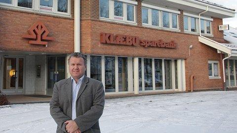 Banksjef Bjørn Riise, Klæbu Sparebank