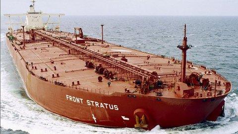 Tankskip Front Stratus Frontline skip