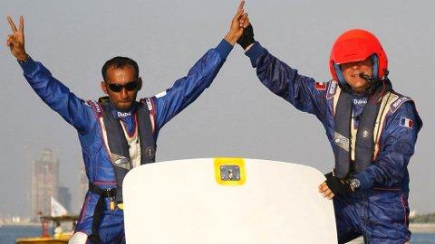 Mohammad Al Mehairi, Jean-Marc Sanchez, Victory 1