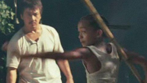 KARATE KID: Jackie Chan er karatemesteren og Jaden Smith den unge eleven i Harald Zwarts nye film.