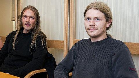 Partileder Even Ganja Helland og nestleder Sigbjørn Eskeland i Det Norske Cannabisparti.