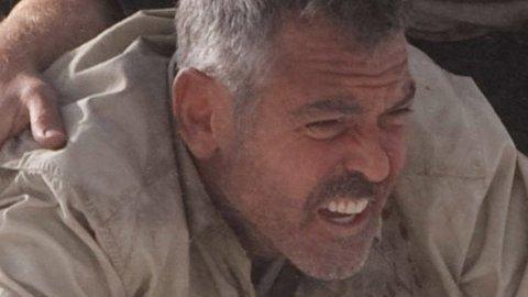 DOBBEL TRØBBEL: George Clooney som spesiell spesialagent og Ewan McGregor som desillusjonert journalist i «Menn som stirrer på geiter».