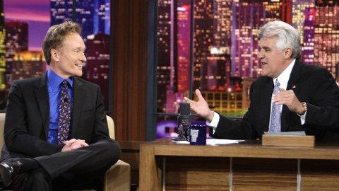SA FARVEL: Jay Leno skifter beite etter 17 år som programleder for prestisjetunge «The Tonight Show».