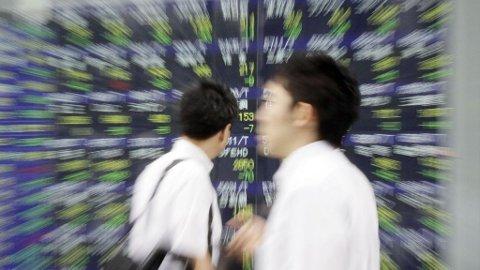 Nikkei-indeksen, Tokyo, Japan, børs, aksjer, Nikkei