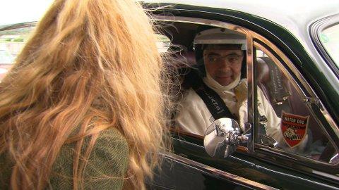 Dorthe Skappel ante ikke at Rowan Atkinson var til stedet, før hun tittet inn i bilen hans, helt tilfeldig.