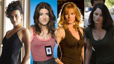 Ziva, Debra, Catherine og Teresa er alle helter i sine egne TV-serier.