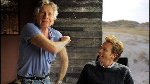 ROMAN POLANSKI, her med Ewan McGregor under innspillingen av «The Ghost Writer» på øya Sylt.