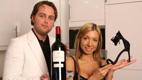 Børge og Angelina var det aller første paret som var med i «Luksusfellen».