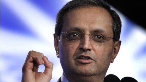 Vikram Pandit, konsernsjef Citigroup